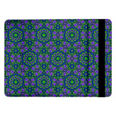 Retro Flower Pattern  Samsung Galaxy Tab Pro 12.2  Flip Case