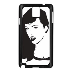 Pin Up Samsung Galaxy Note 3 N9005 Case (Black)