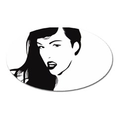 Pin Up Magnet (Oval)