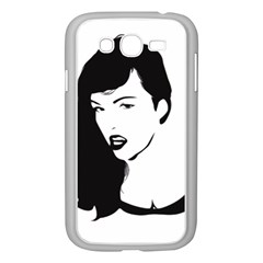 Pin Up Samsung Galaxy Grand DUOS I9082 Case (White)