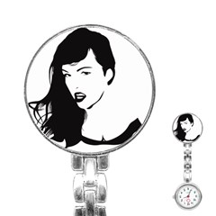 Pin Up Stainless Steel Nurses Watch