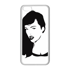 Pin Up Apple iPhone 5C Seamless Case (White)