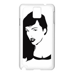 Pin Up Samsung Galaxy Note 3 N9005 Case (White)