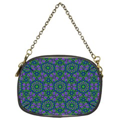 Retro Flower Pattern  Chain Purse (two Sided)