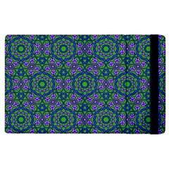 Retro Flower Pattern  Apple Ipad 3/4 Flip Case