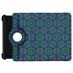 Retro Flower Pattern  Kindle Fire HD 7  (1st Gen) Flip 360 Case