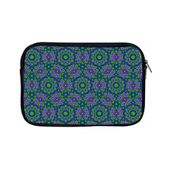 Retro Flower Pattern  Apple iPad Mini Zippered Sleeve