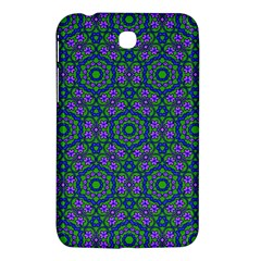 Retro Flower Pattern  Samsung Galaxy Tab 3 (7 ) P3200 Hardshell Case