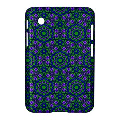 Retro Flower Pattern  Samsung Galaxy Tab 2 (7 ) P3100 Hardshell Case