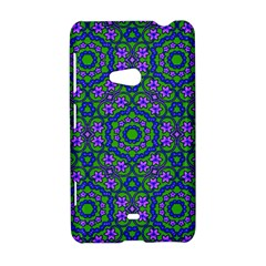 Retro Flower Pattern  Nokia Lumia 625 Hardshell Case
