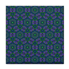 Retro Flower Pattern  Ceramic Tile