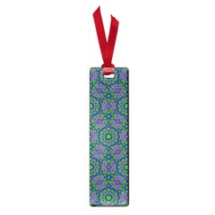 Retro Flower Pattern  Small Bookmark