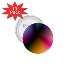 Prism Rainbow 1 75  Button (10 Pack)