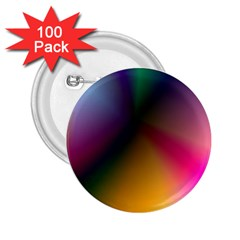 Prism Rainbow 2.25  Button (100 pack)