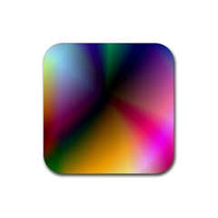 Prism Rainbow Drink Coaster (square)