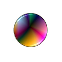 Prism Rainbow Golf Ball Marker 4 Pack (for Hat Clip)