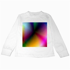 Prism Rainbow Kids Long Sleeve T-Shirt