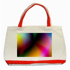Prism Rainbow Classic Tote Bag (Red)
