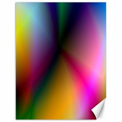 Prism Rainbow Canvas 12  X 16  (unframed)