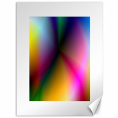Prism Rainbow Canvas 36  X 48  (unframed)