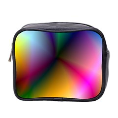 Prism Rainbow Mini Travel Toiletry Bag (two Sides)