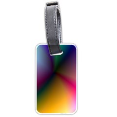 Prism Rainbow Luggage Tag (Two Sides)