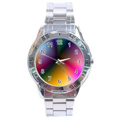 Prism Rainbow Stainless Steel Watch