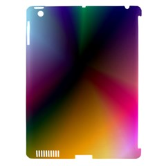 Prism Rainbow Apple Ipad 3/4 Hardshell Case (compatible With Smart Cover)