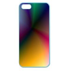 Prism Rainbow Apple Seamless Iphone 5 Case (color)