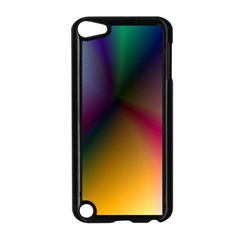 Prism Rainbow Apple iPod Touch 5 Case (Black)