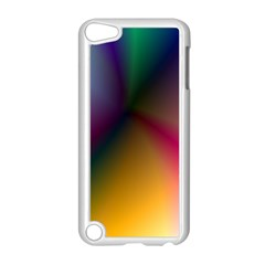 Prism Rainbow Apple iPod Touch 5 Case (White)
