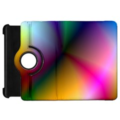 Prism Rainbow Kindle Fire HD 7  (1st Gen) Flip 360 Case
