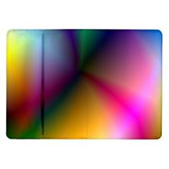 Prism Rainbow Samsung Galaxy Tab 10.1  P7500 Flip Case