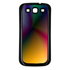 Prism Rainbow Samsung Galaxy S3 Back Case (black)