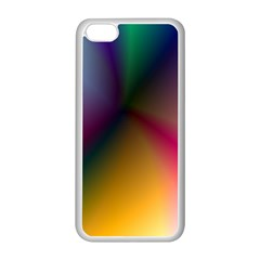 Prism Rainbow Apple iPhone 5C Seamless Case (White)