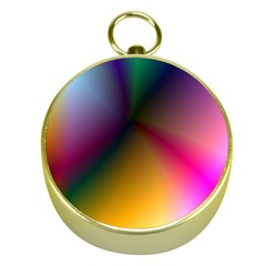 Prism Rainbow Gold Compass