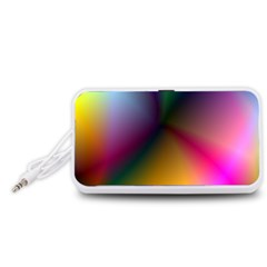 Prism Rainbow Portable Speaker (white)