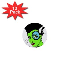 Frankie s Girl 1  Mini Button (10 pack)