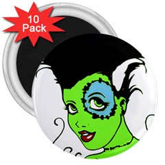 Frankie s Girl 3  Button Magnet (10 pack)