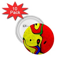 Abstract 1 75  Button (10 Pack)