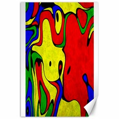 Abstract Canvas 20  X 30  (unframed)