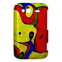 Abstract HTC Wildfire S A510e Hardshell Case