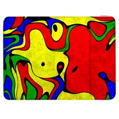 Abstract Samsung Galaxy Tab 7  P1000 Flip Case