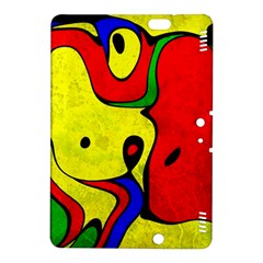 Abstract Kindle Fire Hdx 8 9  Hardshell Case