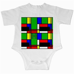 Mondrian Infant Bodysuit