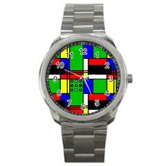 Mondrian Sport Metal Watch