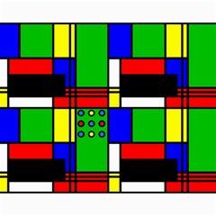 Mondrian Canvas 11  x 14  (Unframed)