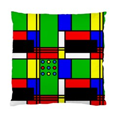 Mondrian Cushion Case (two Sided)