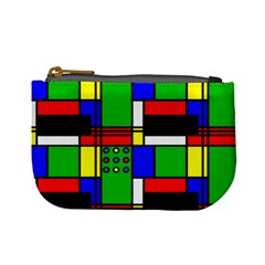Mondrian Coin Change Purse