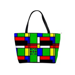 Mondrian Large Shoulder Bag